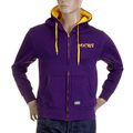 RMC Martin Ksohoh MKWS Purple Hooded Zipped 100% Cotton Regular Fit Sweatshirt REDM2319
