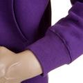 RMC Martin Ksohoh MKWS Purple Hooded Zipped 100% Cotton Regular Fit Sweatshirt REDM2319