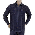 RMC Martin Ksohoh MKWS Washed Denim Long Sleeve Regular Fit Shirt for Men REDM2361