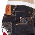 RMC Martin Ksohoh Model 1001 Super Exclusive Fukusuke & Ten Chi Jin Mens Dark Indigo Raw Denim Jeans REDM1162
