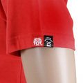 RMC Jeans Crew Neck Red Short Sleeve Regular Fit Skull Poker Playing Card Printed T Shirt REDM2088