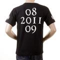 RMC Martin Ksohoh Crew Neck RQT1054 Regular Fit NYC White Skull Printed Short Sleeve Black T-Shirt REDM2126