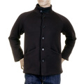 RMC Martin Ksohoh MKWS Black Button up Regular Fit Jacket with Fleece Line for Men REDM2347