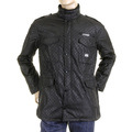 RMC Martin Ksohoh MKWS Mens Regular Fit Self Patterned Black Field Jacket REDM5471