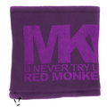 RMC Martin Ksohoh MKWS Purple Reversible Fleece Neck Warmer Snood REDM5497A