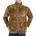 RMC Martin Ksohoh Faux Fur Brown Regular Fit High Collared Jacket REDM2817