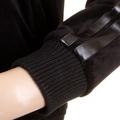 RMC Martin Ksohoh Mens Black Velvet Regular Fit Hooded Zip Up Jacket With Fujin And Raijin Embroidery REDM2356