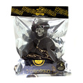 Yoropiko x Unlimitedsifr Toy Collectors Limited Edition RQA11052 Skull Mask Black Teddy Bear REDM0472