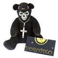 Yoropiko x Unlimitedsifr Bear Limited Edition Black Teddy Bear REDM0472
