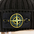 Stone Island Beanie Black roll beanie hat 5515N01D5 SI2180