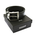 Boss Black Belt Osulao 50196324 boxed Hugo Boss black leather belt BOSS2498