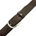 Armani Jeans chocolate brown leather belt Q6116 73 AJM2408