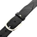 Armani Jeans black leather belt Q6116 73 AJM2409