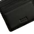 Hugo Boss Wallet Lillipin boxed black leather wallet 50205537 BOSS2506