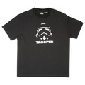 RMC Jeans X Headstone Collectors Item Trooper Head Printed Black Regular Fit Crewneck T-Shirt HEAD3772