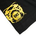 RMC Jeans x Yoropiko Limited Edition Black Crew Neck Regular Fit Yellow Seleven T Shirt YORO3775