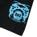 RMC Jeans x Yoropiko Limited Edition Collectors Item Black Crew Neck Regular Fit Blue Seleven T Shirt YORO3776