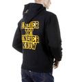 RMC Martin Ksohoh Mens Large Fit RWC141264 Black Overhead Hooded Sweatshirt with UNTUNK Print REDM0911