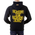 RMC Martin Ksohoh Mens Large Fit RWC141264 Black Overhead Hooded Sweatshirt with UNTUNK Print REDM0911