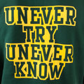 RMC Martin Ksohoh Mens Large Fit RWC141264 Bottle Green Overhead Hooded Sweatshirt with UNTUNK Print REDM0932