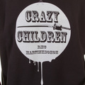 RMC Martin Ksohoh Black Crew Neck Large Fitting RWH141264 Sweatshirt for Men with Crazy Children Print REDM0929