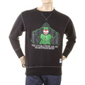 RMC Jeans Black Crew Neck Large Fitting RWH141264 Sweatshirt with King Kong RMC Evolution Print REDM0923