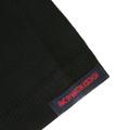RMC Martin Ksohoh Purple Logo Printed Black Crew Neck Short Sleeve Regular Fit T Shirt REDM0095