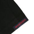 RMC Martin Ksohoh Black 100% Cotton Regular Fit Short sleeve Crew Neck T-shirt with Printed Fuscia Logo REDM0129