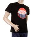 RMC Martin Ksohoh RQT1077 Black Regular Fit Short Sleeve Crew Neck Basketball Printed T-shirt for Men REDM0970