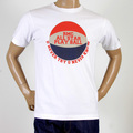 RMC Martin Ksohoh Crew Neck Regular Fit RQT1077 Short Sleeve White T Shirt with Basketball Print REDM0972