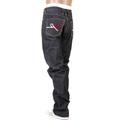 RMC RQP11105 Super Exclusive 9th Anniversary Mizuhiki Knot Embroidered Selvedge Indigo Denim Jeans REDM1206