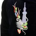 Sugarcane Fully Reversible TT12420 Black Musashi and Dragon Special Edition Regular Fit Suka Jacket TOYO1084AA