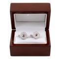 RMC Martin Ksohoh Custom Made Diamond and Ruby Cuff Links in Gift Box RMC2402