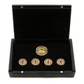 RMC Martin Ksohoh Precious Stone Blue Sapphire Custom Made Button Set in Gift Box RMC2369
