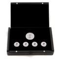 RMC Martin Ksohoh Diamond and Ruby Custom Made Button Set in Gift Box RMC2337