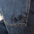RMC Martin Ksohoh RQO11095 Super Exclusive Original Red Remade Selvedge Washed Denim Jeans in Indigo REDM1207