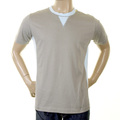 Evisu J07 Early Original Short Sleeve Cotton Crew Neck Grey T Shirt EVIS1276