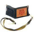 RMC Martin Ksohoh Unisex Indigo Denim Key Chain Included Double Bill Fold Wallet with Selvedge Finish REDM0487
