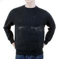 RMC Martin Ksohoh Regular Fitting RWH141162 Crew Neck Black Sweatshirt with Toyo Story Bridge Print REDM1067