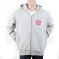 RMC Martin Ksohoh Mens RJK141160 Grey Marl Regular Fitting Hooded Sweatshirt with Untunk Print REDM1035