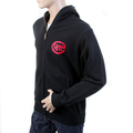 RMC Martin Ksohoh Mens RJK141160 Black Large Fitting Hooded Sweatshirt with Untunk Print REDM1037