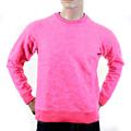 RMC Martin Ksohoh R6WHTSUNAMIE Raglan Sleeve Pink Tsunami Wave Crew Neck Sweat Shirt REDM1060