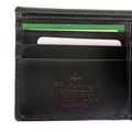 Vivienne Westwood black leather boxed wallet  VW065 33017 VWST2028