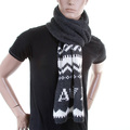 Armani Jeans mid grey knitted scarf S6407 P4 AJM1336
