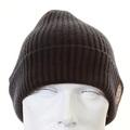Armani Jeans dark grey rib knit beanie hat S6404 P3 AJM1342