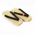 RMC Martin Ksohoh Geta Hand Made Unisex One Size Flip Flop Sandal with Black Strap RMC1460