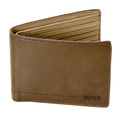 Hugo Boss Black label mens Sibod 50243537 boxed brown leather wallet BOSS1909