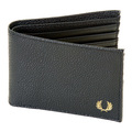 Fred Perry mens L3177 black wallet FPRY3020