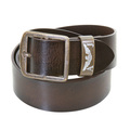 Armani Jeans mens brown leather T6180 W2 casual belt AJM0476