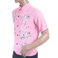 Sun Surf Special Edition Mens SS36209 Pink Regular Fit Short Sleeve Vince Ray Keoni of Hawaii Shirt SURF3319